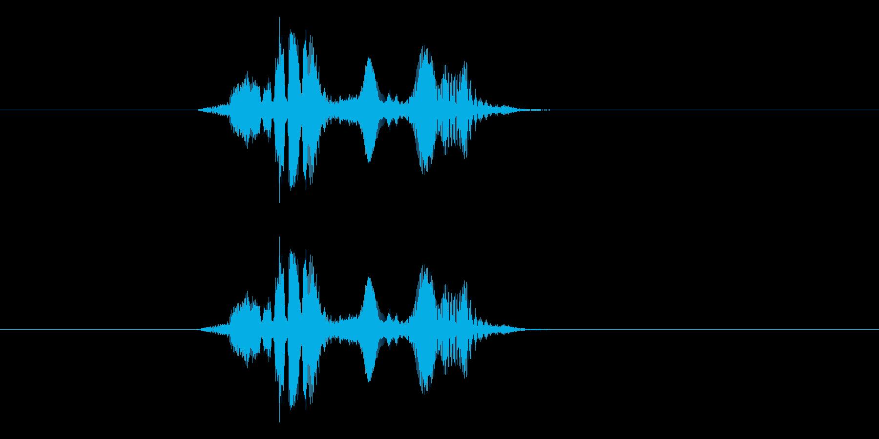 トゥレスウォァの再生済みの波形
