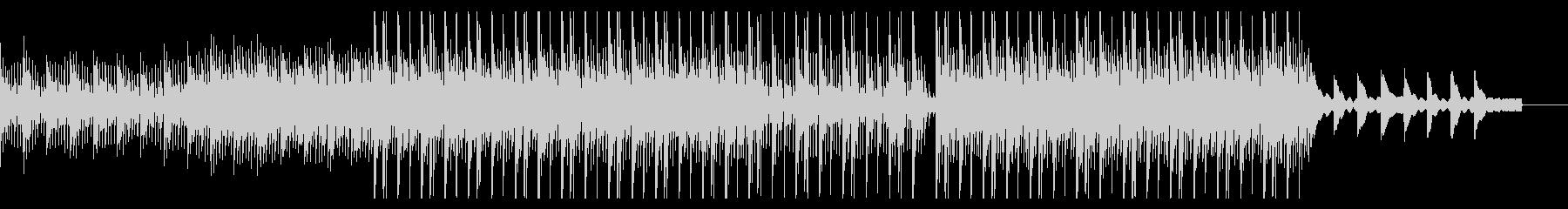 切なさのあるピアノフレーズの曲の未再生の波形