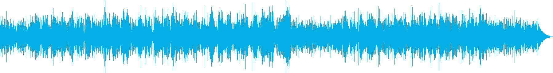 おしゃれなエレキバイオリンフュージョンの再生済みの波形