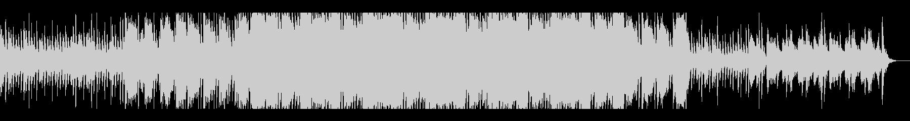ピアノとバイオリンの洋風ホラーBGMの未再生の波形