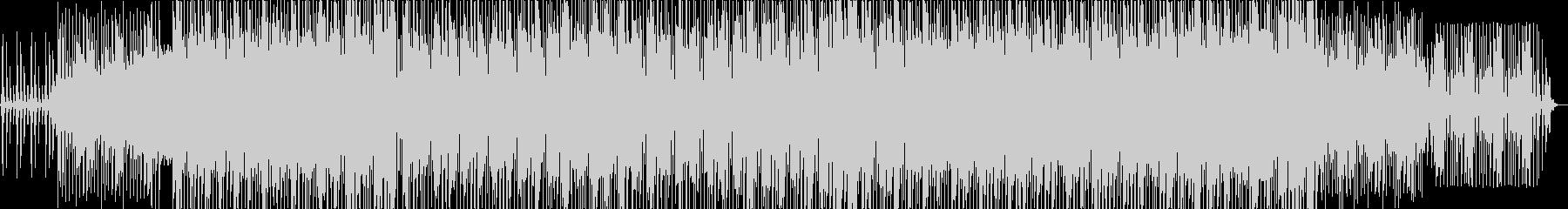 アップテンポでノリノリな曲の未再生の波形