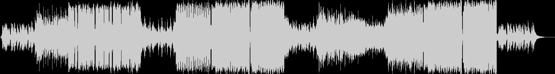 エモーショナルな緩めのEDMです。の未再生の波形