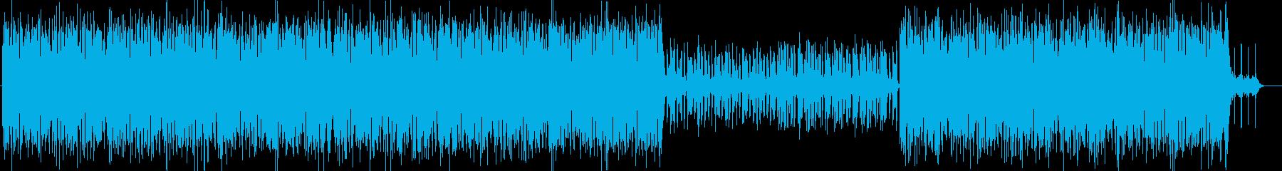 わんぱく南洋探検トロピカルハウスの再生済みの波形
