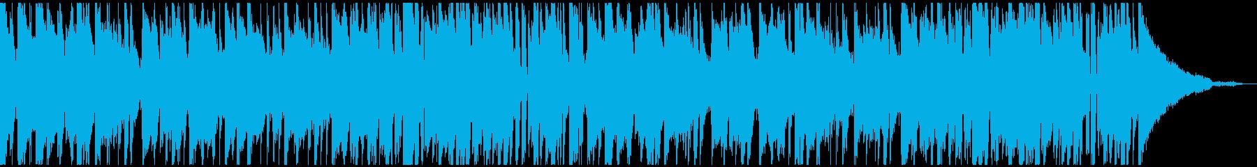 ピアノでブルースな曲です。の再生済みの波形