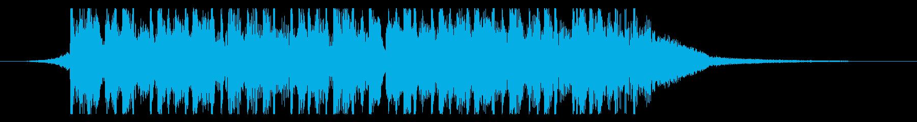 インディーロック ポップロック ポ...の再生済みの波形