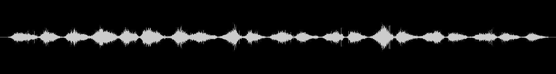 バルーン スクラブヘア02の未再生の波形