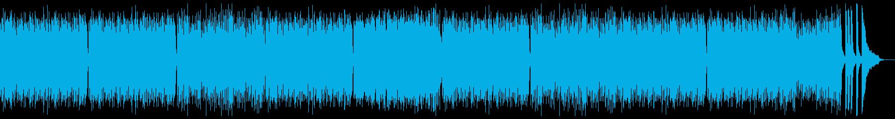 モーツアルト風の優しいピアノ:ピアノのみの再生済みの波形