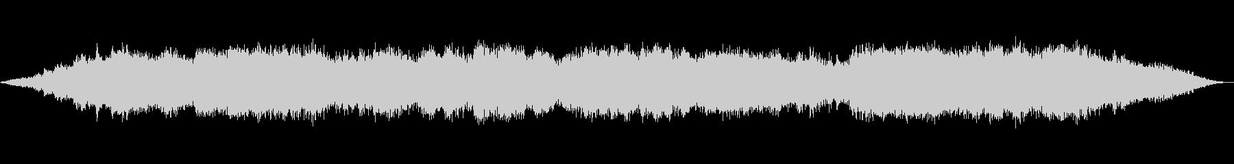 偶発的な音の重なりが心地よいアンビエントの未再生の波形