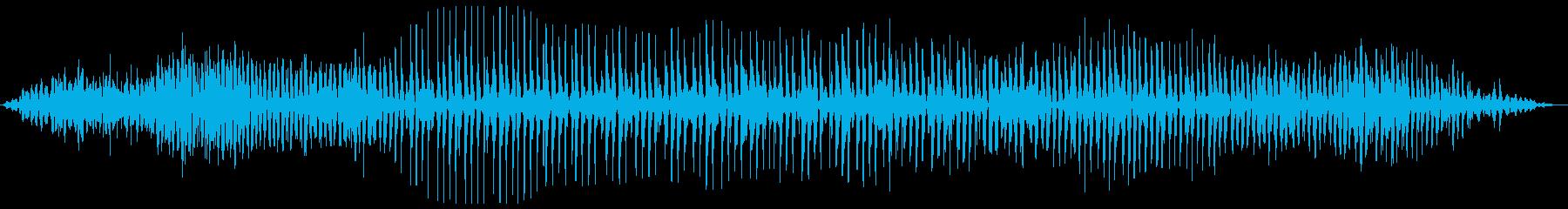 ブォンブロロ・・・(エンジン始動の様子)の再生済みの波形