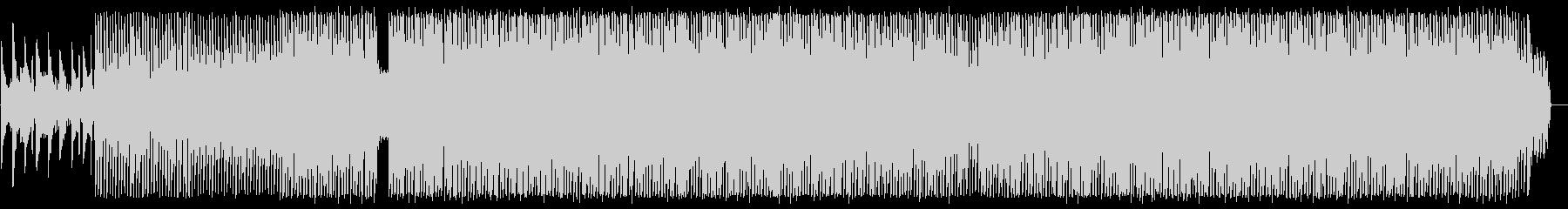 ピアノの旋律が美しいユーロ系テクノの未再生の波形