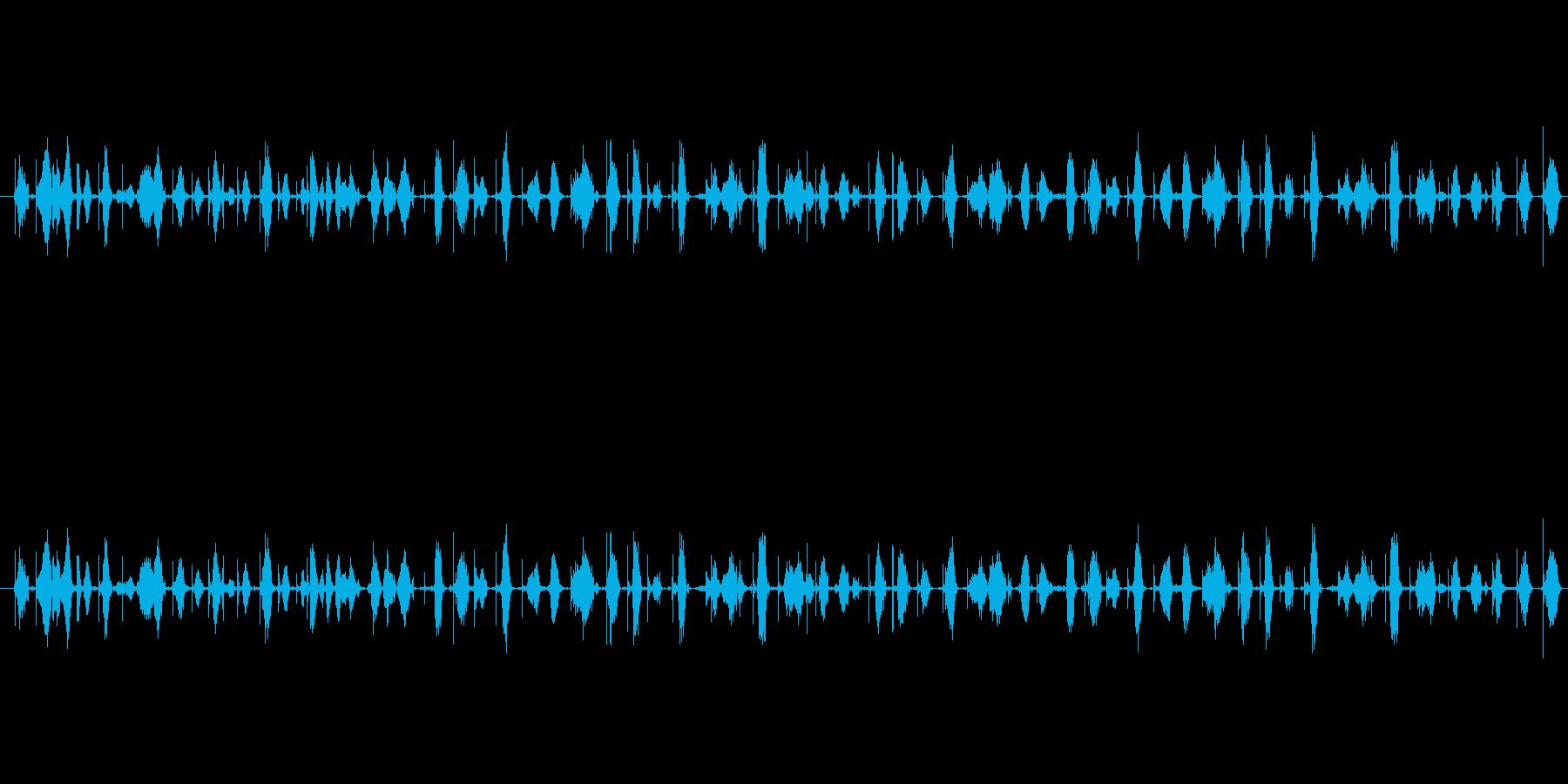 【シャープペン01-03(書く)】の再生済みの波形