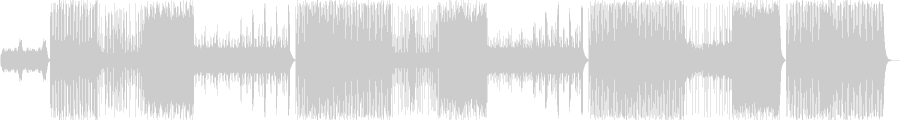 ヒップホップ/クランク/三味線/和#2の未再生の波形