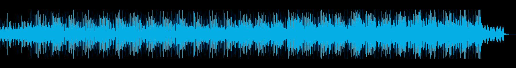ミステリアスなエレクトロポップの再生済みの波形