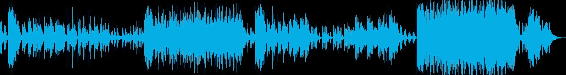 蛍 花火 ノスタルジックなピアノBGMの再生済みの波形