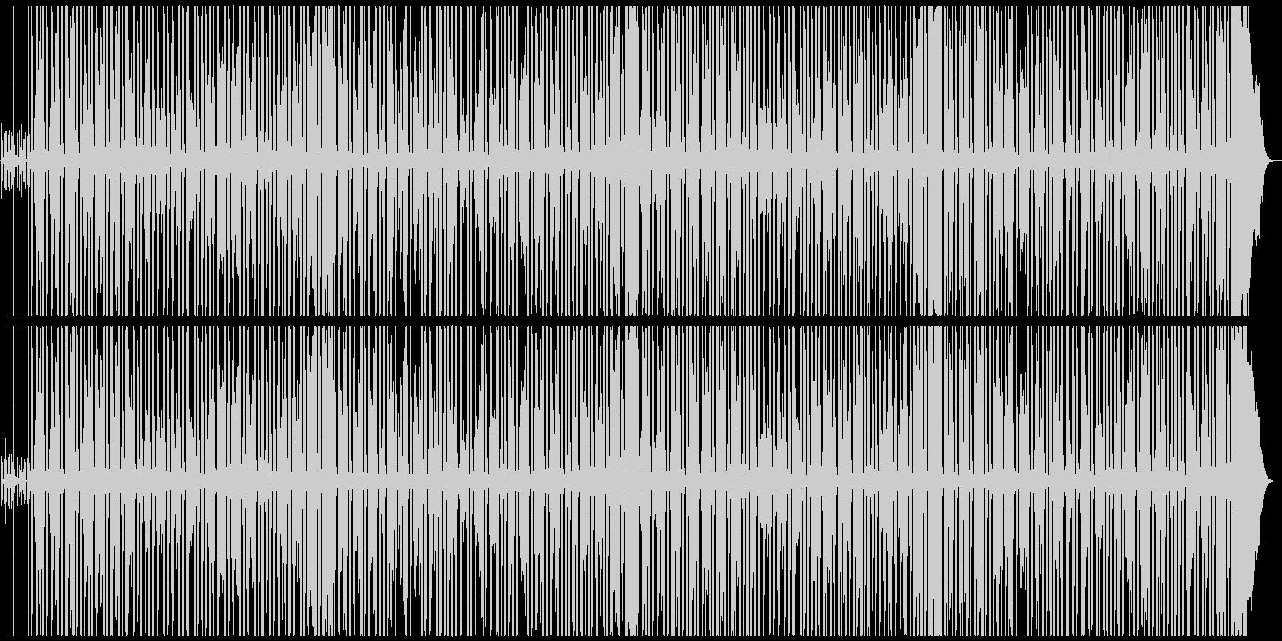 陽気・軽快 テキサス系アコギブルースの未再生の波形