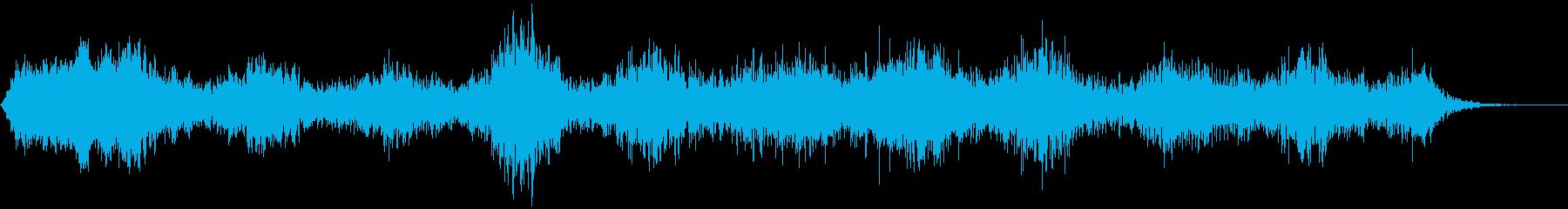 【ダークアンビエント】亡霊の亡骸の再生済みの波形