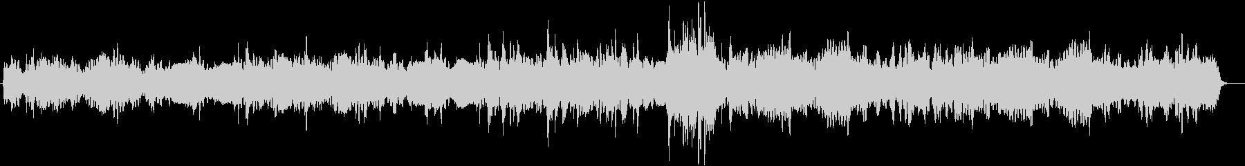 フルートメインのほのぼの日常系BGMの未再生の波形