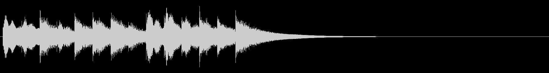 スモールブラスディナーゴング:いく...の未再生の波形