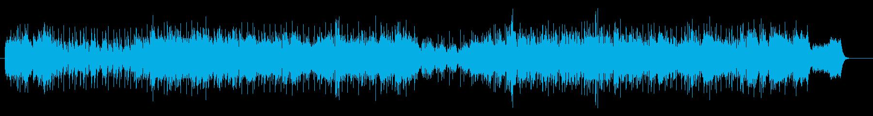 爽快なテーマ・ソング風の再生済みの波形