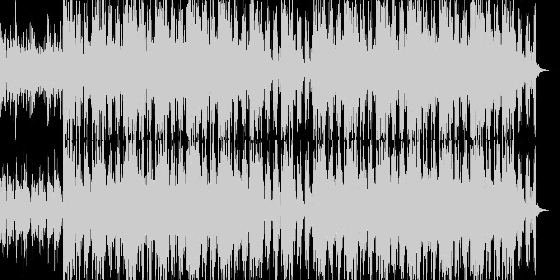 ニュース映像ナレーションバック向け-22の未再生の波形
