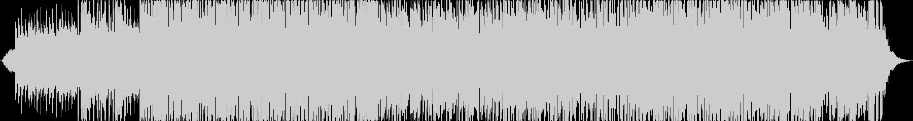 トロピカルポップミュージックの未再生の波形