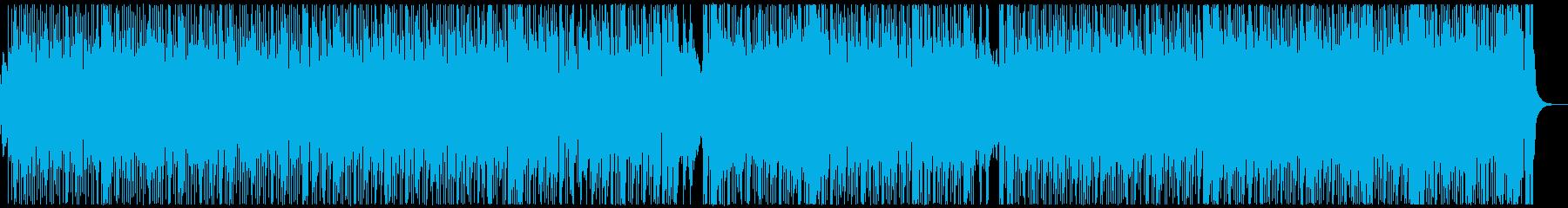 ボサノバのバラードの再生済みの波形