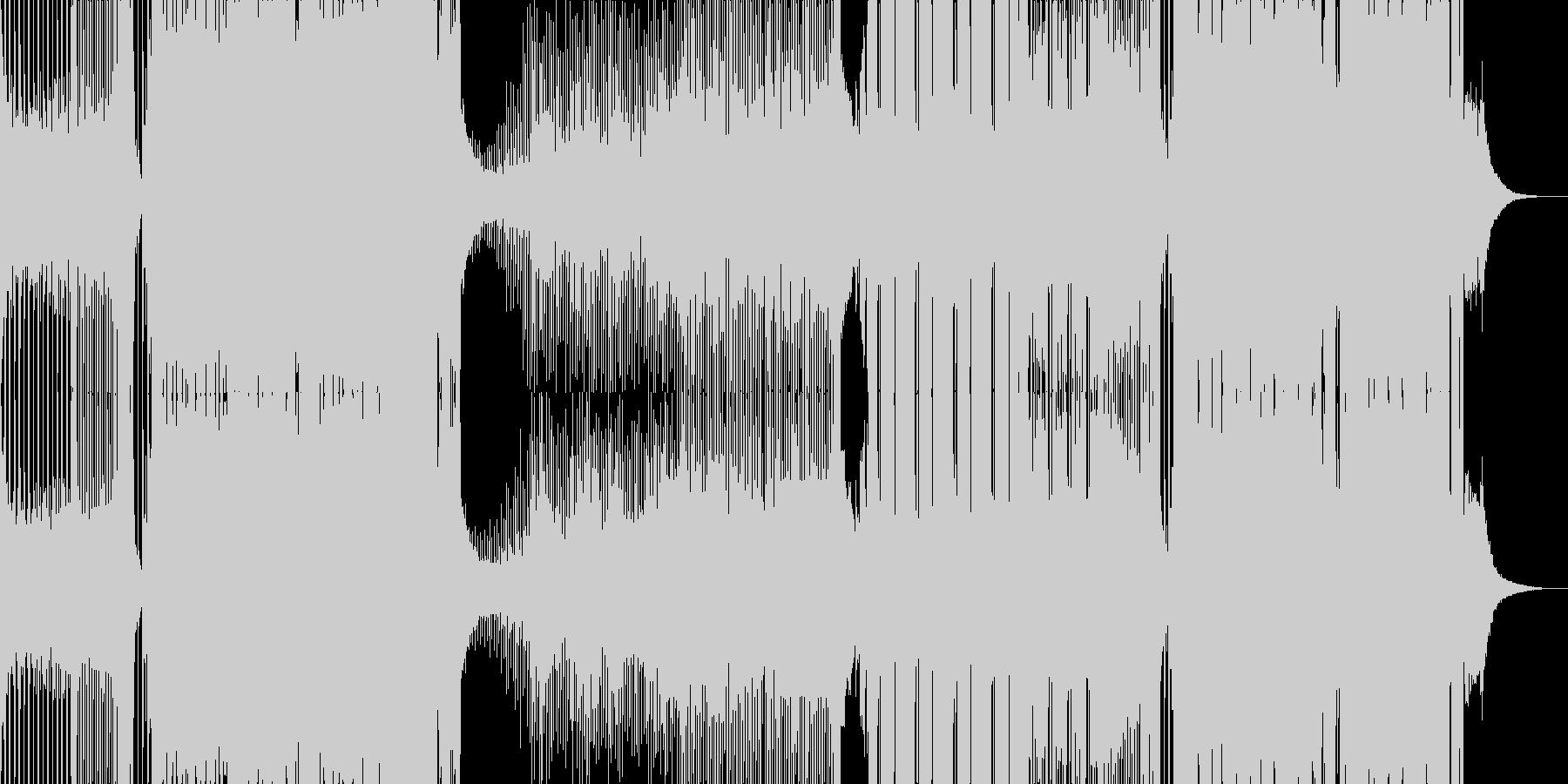 パリピ アゲアゲ ハードスタイル EDMの未再生の波形