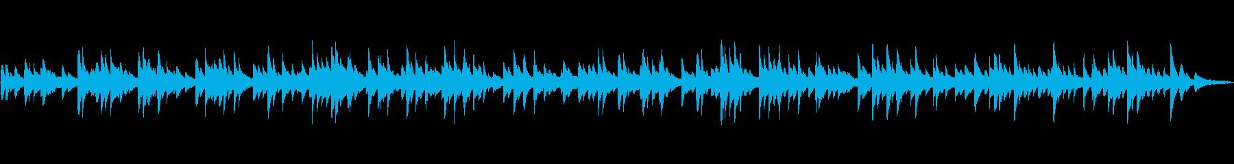 MCの邪魔をしない静かなピアノソロの再生済みの波形