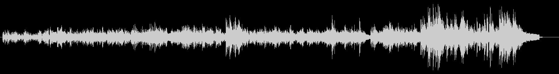 バッハのインベイジョン2番の未再生の波形