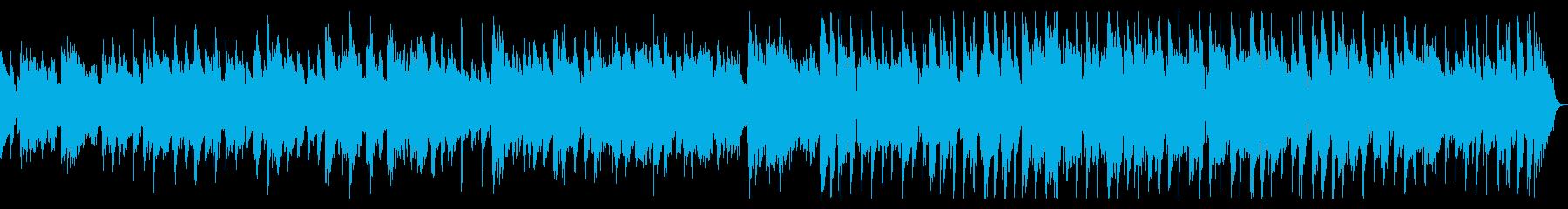 ピアノのしっとりバラードジャズの再生済みの波形