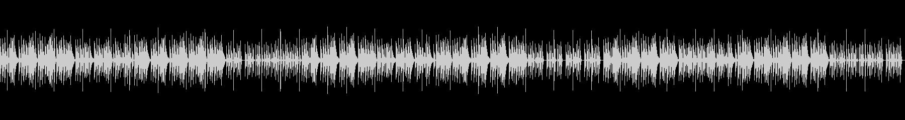 和風な琴のこども向け知育BGM_Bの未再生の波形