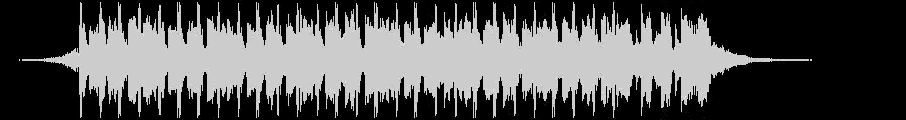 サマーポップ(短編)の未再生の波形