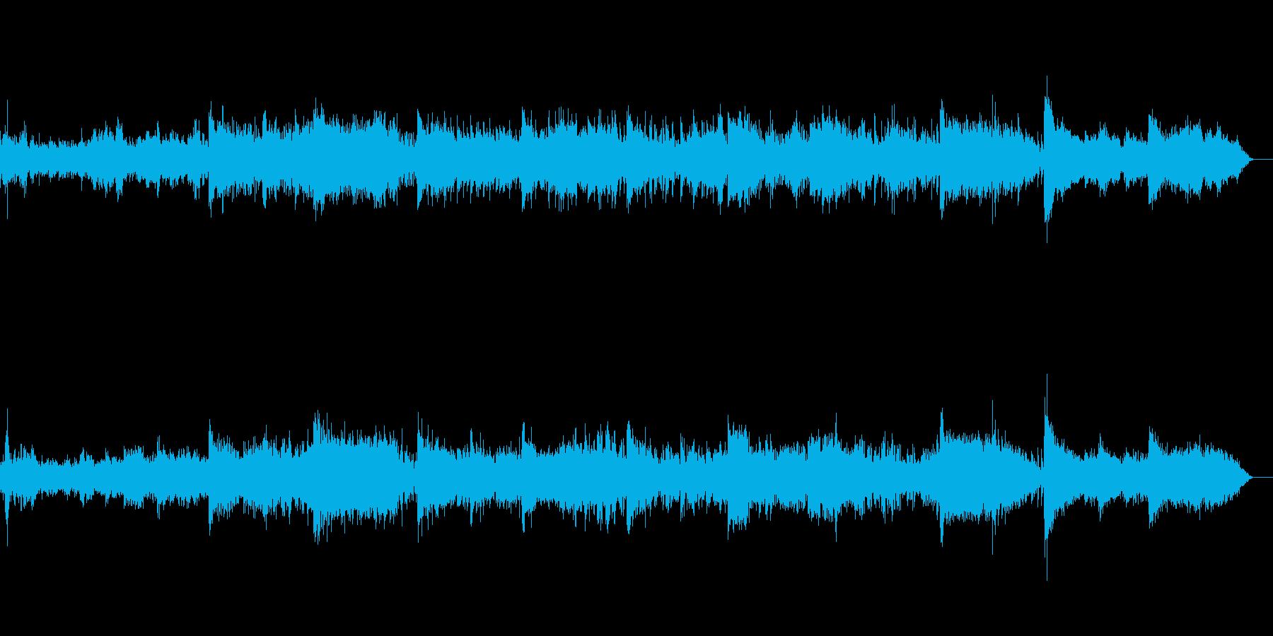 薄明かりのようなアンビエントIDMの再生済みの波形