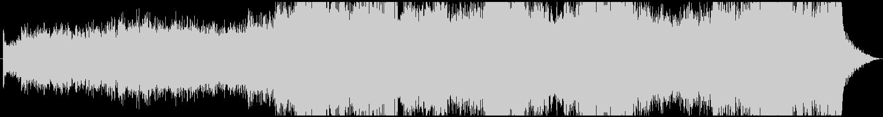 弦楽器のノイズが入ったホラーアンビエントの未再生の波形