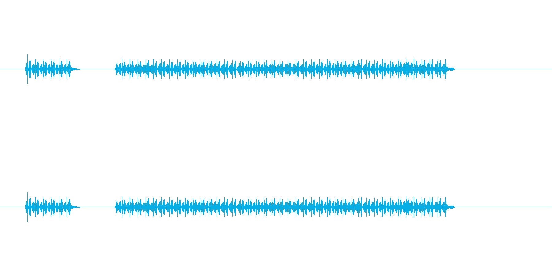 ぶっぶー。シンプルなクイズ不正解音。選…の再生済みの波形