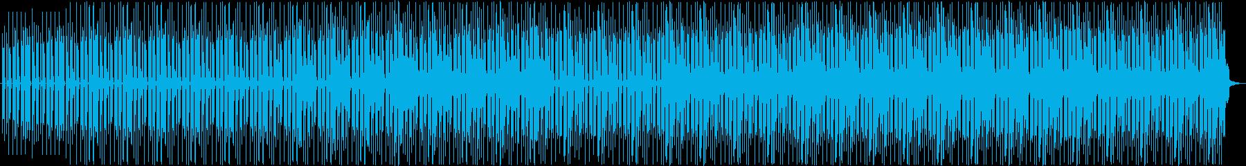 パーカッション&ギター・スポーティの再生済みの波形