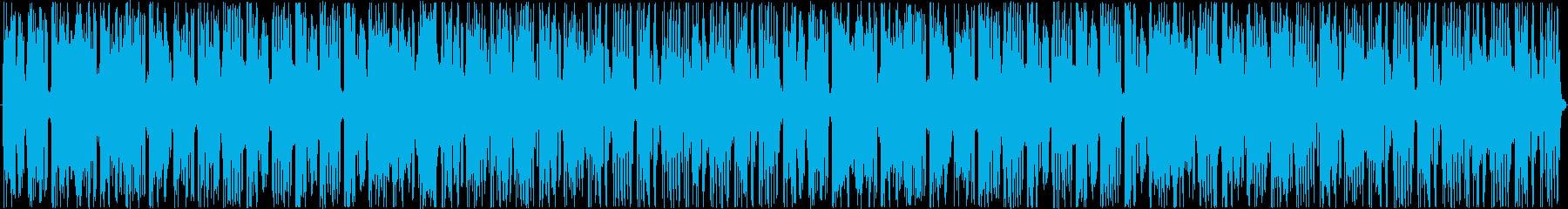 LOOPで使用できますの再生済みの波形