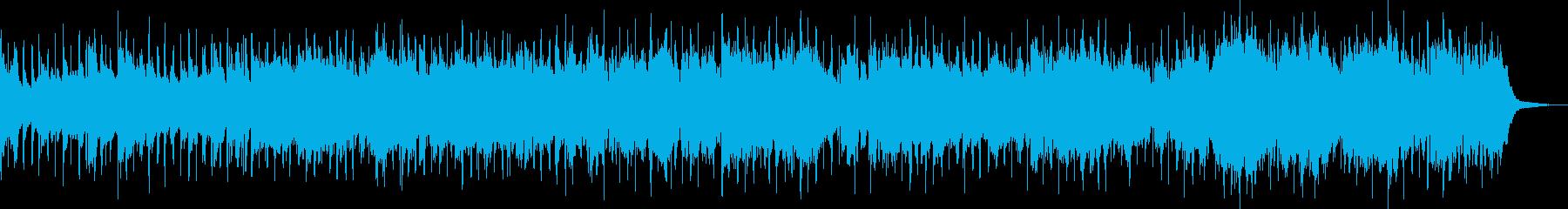 メロウなピアノの心地良いlo-fiビートの再生済みの波形