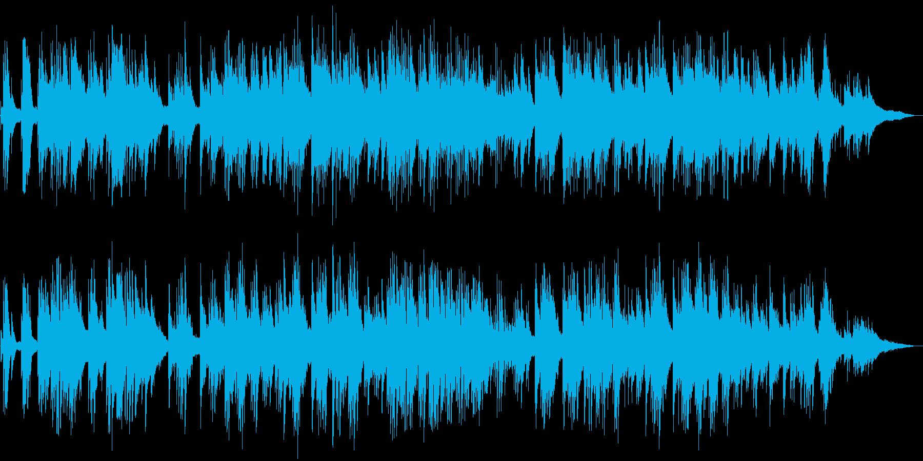 感動的な雰囲気の 癒しのピアノソロの再生済みの波形