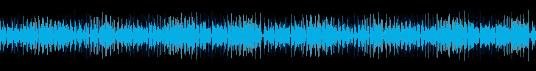 【メロなし・ループ】ギター生演奏ボサノバの再生済みの波形