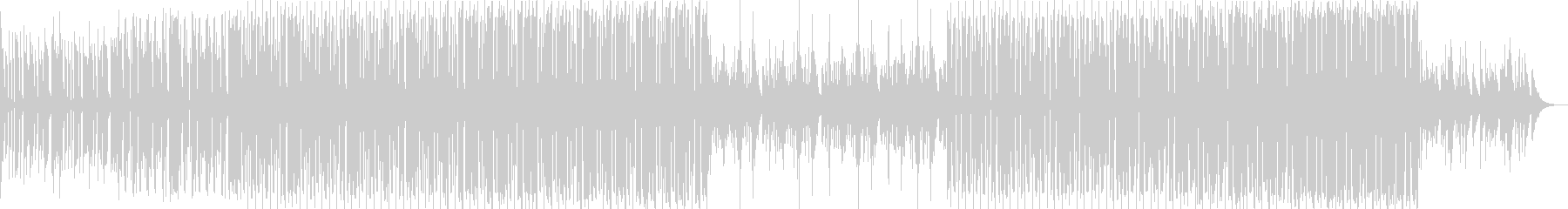 bpm116-あなたに夢中な情熱のEDMの未再生の波形