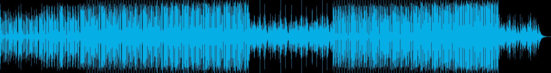 bpm116-あなたに夢中な情熱のEDMの再生済みの波形