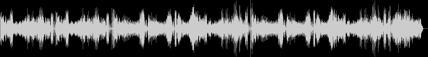 ベートヴェンのピアのソナタ25番の未再生の波形