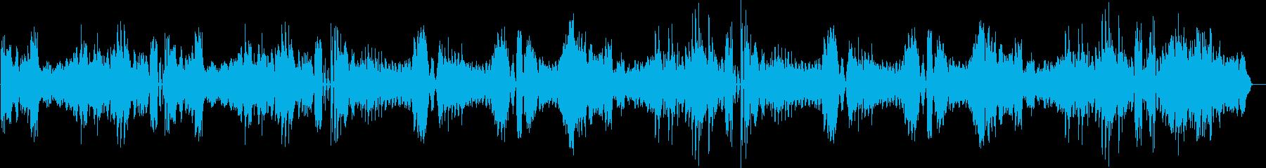 ベートヴェンのピアのソナタ25番の再生済みの波形