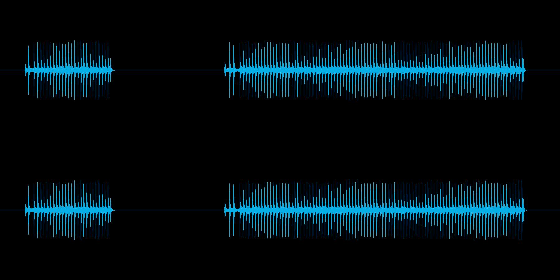 ゲーム、クイズ(ブー音)_002の再生済みの波形
