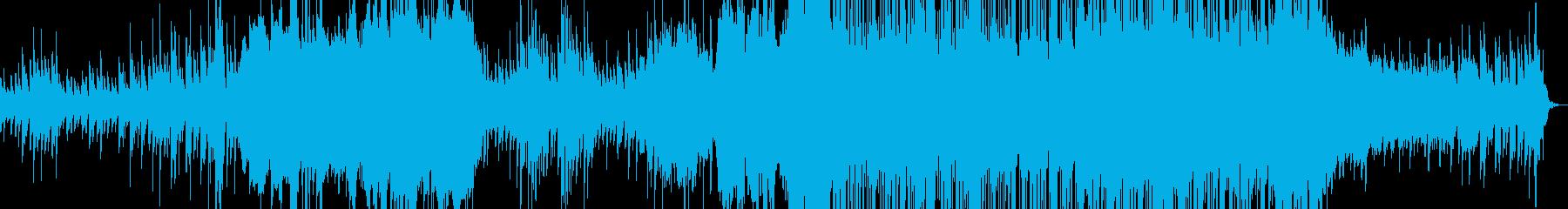 アンビエント ドラマチック ゆっく...の再生済みの波形