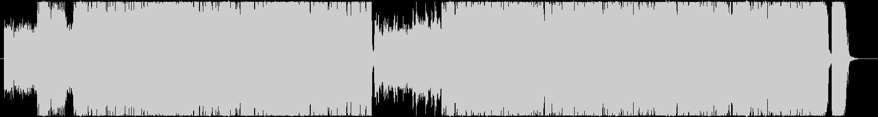 短縮verリズムチェンジのあるロックリフの未再生の波形