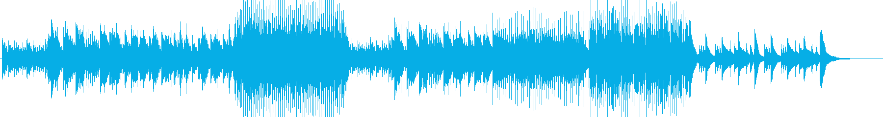 ノスタルジックで感動的なアコギ曲の再生済みの波形