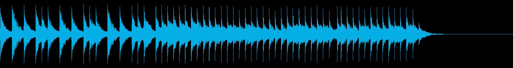 和楽器/三味線/和風フレーズ/#1の再生済みの波形