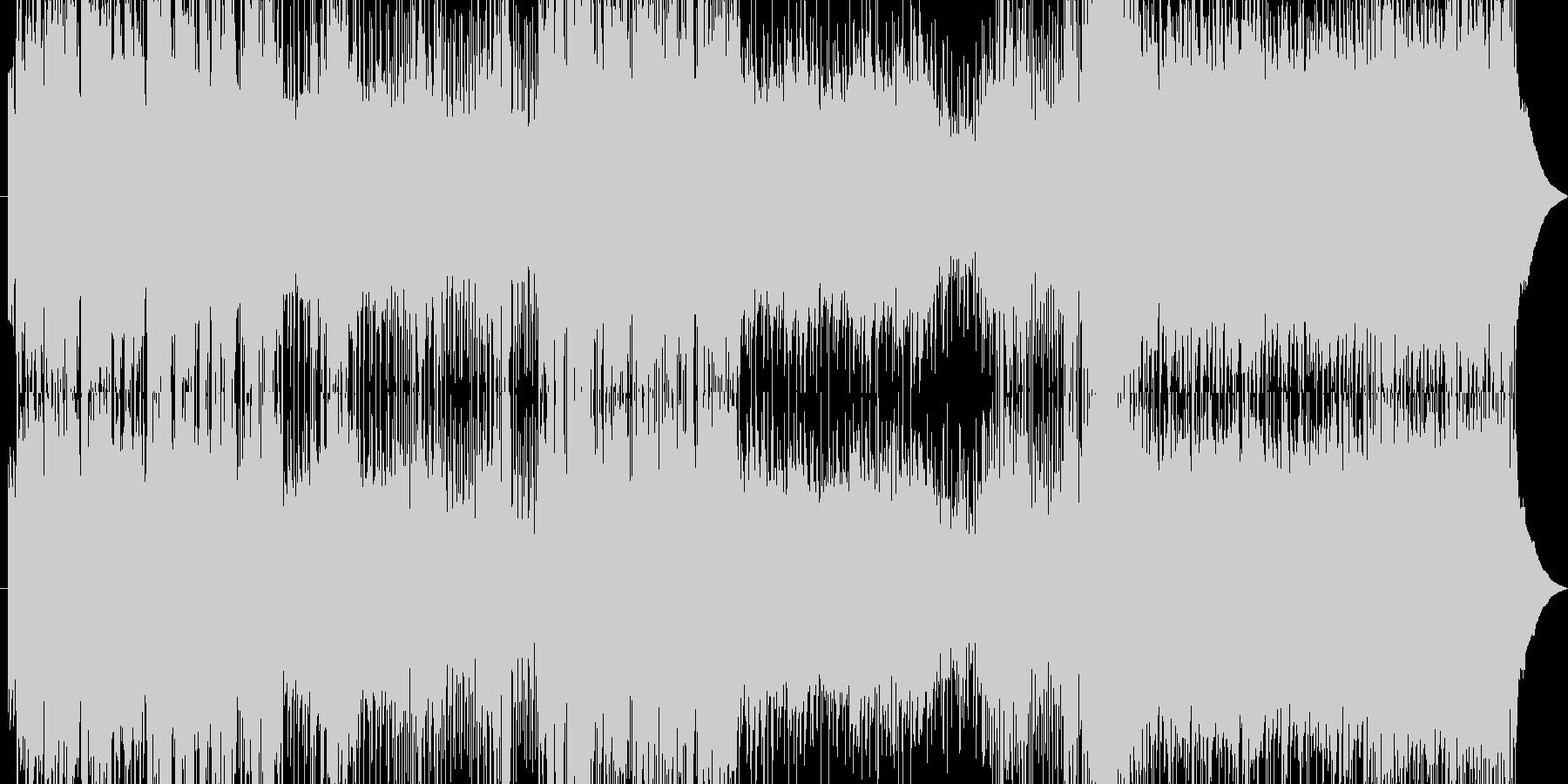 記憶喪失になって叫びを表現してます。の未再生の波形